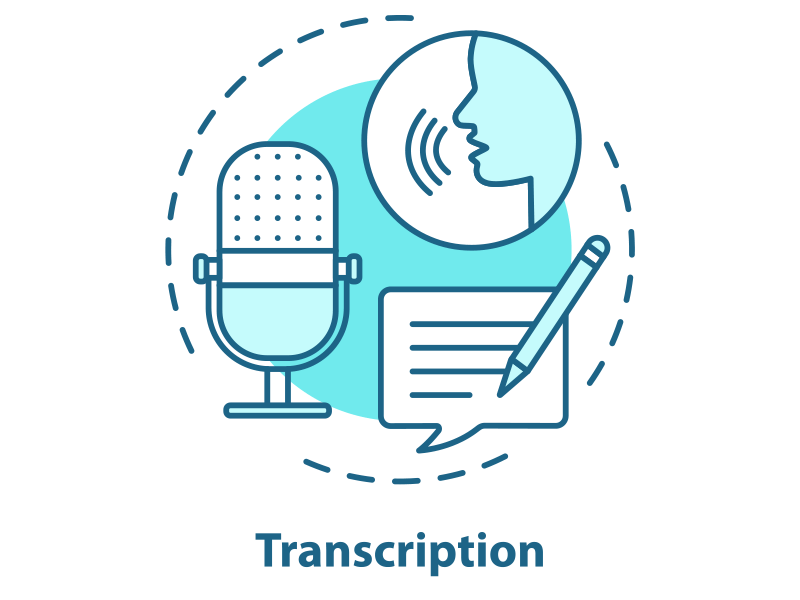 Quels sont les principaux types de transcription audio en texte ?